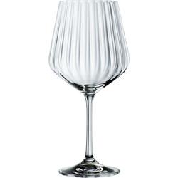 Nachtmann Weinglas Tasted Good, Kristallglas, (4x Gin&Tonic Glas, 4x Glashalm, 1x Reinigungsbürste), 640 ml