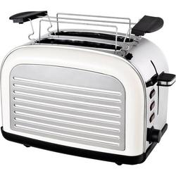 TKG Team Kalorik TKG TO 2500 Toaster mit Brötchenaufsatz Creme-Weiß