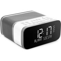 Pure Siesta S6 Polar, EU/UK DAB, DAB+ & UKW Radiowecker mit Bluetooth, Sleep-Timer