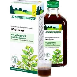 MELISSEN SAFT Schoenenberger 200 ml