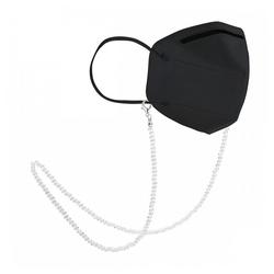 null Karat Kette ohne Anhänger Kristallglas (Maskenkette)
