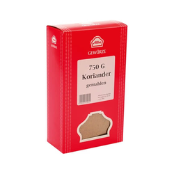Alba Gewürze Koriander gemahlen in Aroma Schutz Verpackung 750g