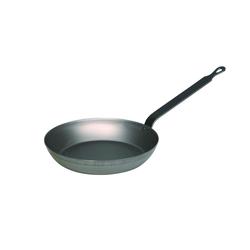 Riess Bratpfanne Eisenpfanne Rund, Eisen (1-tlg), eignen sich besonders für Gasherd oder offenes Feuer Ø 20 cm x 3.6 cm