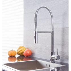 Küchenarmatur mit flexibler Spülbrause – Chrom - Como