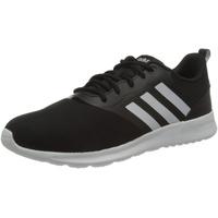 adidas QT Racer 2.0 Running Shoe, CBLACK/FTWWHT/Onix,38 2/3 EU