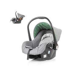Chipolino Babyschale Kindersitz, Babyschale Avenue Gruppe 0+, 2.6 kg, (0 - 13 kg) mit Innenkissen grau