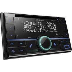 Kenwood DPX-7200DAB Doppel-DIN Autoradio DAB+ Tuner, inkl. DAB-Antenne
