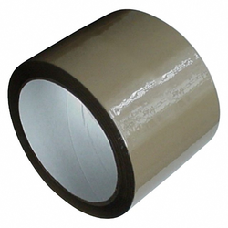 1-PACK Packband Klebeband OPP-801, 75 mm x 66 m, BOPP, Acrylat, braun