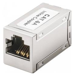 Verbinder für 2 Netzwerkkabel bzw. Lankabel RJ45 Modularkupplung Verbinder, CAT 6A