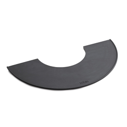 Plancha für Bowl Feuerschale, Designer höfats, 1.8x28.5x57 cm