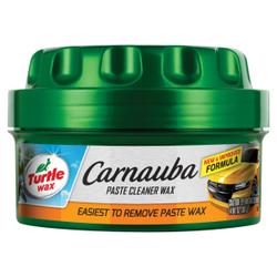 TURTLE WAX CARNAUBA Pastenreiniger Wachs, Wachsreiniger für Autos, 397 ml - Dose