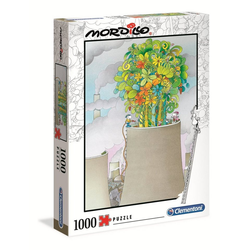 Clementoni® Puzzle 39535 Mordillo Das Heilmittel 1000 Teile Puzzle, 1000 Puzzleteile