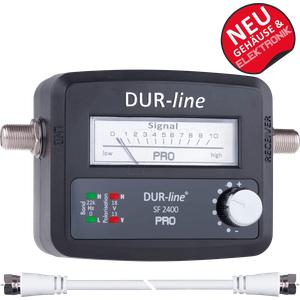 DURLINE SF2400P - Pegelmessgerät, Satmessgerät, analog