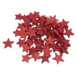 VBS Streudeko Stern, 72 Stück rot