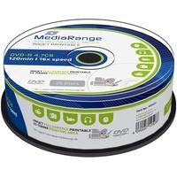 MediaRange DVD-R 4.7GB 16x 25er Spindel bedruckbar (MR407)