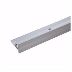 acerto® Treppenkantenprofil acerto® Alu Treppenkantenprofil 90cm 7-15,5 mm silber