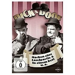 Dick & Doof - Machen eine Landpartie & In einem Bett u.a. - DVD  Filme
