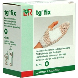TG fix Netzverband B 4 m weiß 1 St.