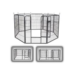 zoomundo Hundekäfig Welpenauslauf / Freilaufgehege 8-Eck - XL