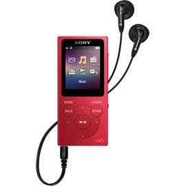 Sony Walkman NW-E394 rot