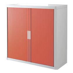 Rollladenschrank »easyOffice« 110 x 104 cm rot, easyOffice, 110x104x41.5 cm