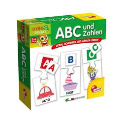 Lisciani Lernspielzeug ABC und Zahlen