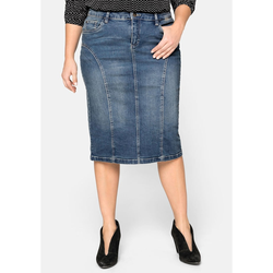 Sheego Jeansrock Sheego blue Denim