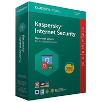 Kaspersky Lab Internet Security 2018 3 Geräte UPG FFP DE Win Mac Android iOS
