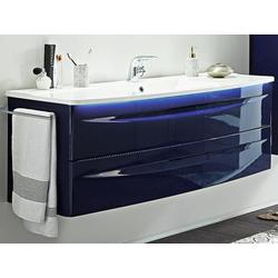 Waschplatz Aquarell Madrid lila Aquarell (B 142 cm) Aquarell