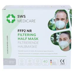PROTECT MC201 FFP2 NR Halbmaske 40 St