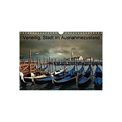 Venedig, Stadt der Masken (Wandkalender 2021 DIN A4 quer)