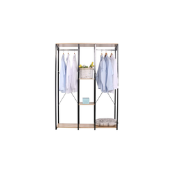 HTI-Line Kleiderschrank Begehbarer Kleiderschrank Mona XL Pflegeleichte Oberflächen