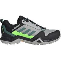 adidas Terrex AX3 GTX M grey two/tech emerald/signal green 43