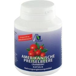 PREISELBEERE amerikanisch 400 mg Kapseln 100 St