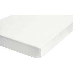 Matratzenauflage Stretchmolton-Spannbetttuch für Wasserbetten + hohe Matratzen Biberna 120-140 cm x 190-210 cm