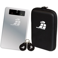 Digittrade GmbH Digittrade RS256 RFID Security 2TB Externe SSD USB 3.2 Gen 1 (USB 3.0) Silber,