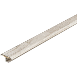 PARADOR Abdeckprofil 3in1, Vinyl Profil Altholz geweißt natur