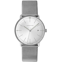 JUNGHANS max bill Quarz Milanaise 38 mm 041/4463.48