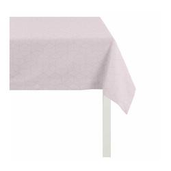 APELT Tischdecke 7901 Uni (1-tlg), Fleckschutz rosa 100 cm x 100 cm