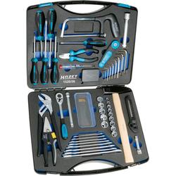Hazet, Werkzeugkoffer + Werkzeugwagen, Universal Werkzeugset im Koffer 56teilig (56x)