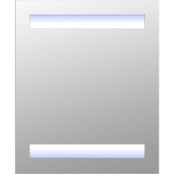 HOMCOM LED Spiegelschrank weiß 60 x 50 x 15 cm (LxBxH)   Badspiegel LED Lichtspiegel Badezimmerspiegel