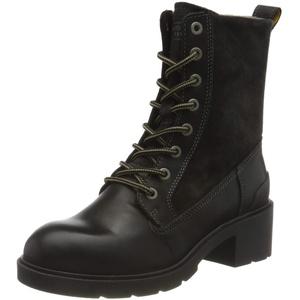 Camel Active Damen LEAF Mode-Stiefel, black, 39 EU
