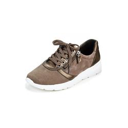 Avena Damen Hallux-Sneaker Extraweich Braun 36, 37, 38, 39, 40, 41, 42