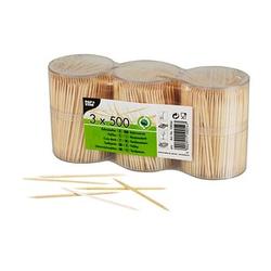 1.500 PAPSTAR Zahnstocher   Holz