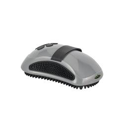 FURminator Striegel Furminator® Striegel, Gummi, für Hunde und Katzen grau