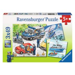 Ravensburger Puzzle Polizeieinsatz, 147 Puzzleteile bunt