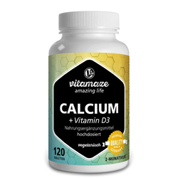 CALCIUM D3 600 mg/400 I.E. vegetarisch Tabletten 120 St