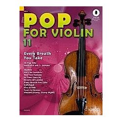 Pop for Violin  1-2 Violinen - Buch