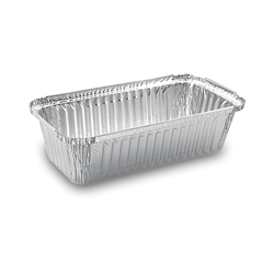 Alu-Servierschale Aluschale Grillschale  900ml, 218x114x54mm, 100 Stk.