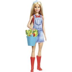 Mattel GJB60 Barbie #Spaß auf dem Bauernhof'' Barbie Puppe (blond) GJB60